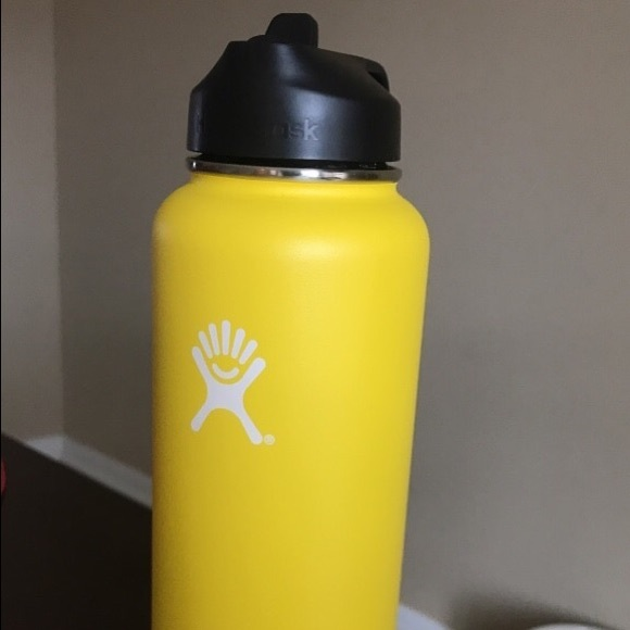 sports shoes 30c33 5d157 Hydro flask 40oz wide mouth with straw lid